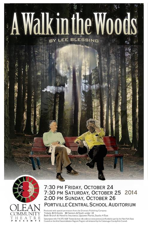 a literary analysis of a walk in the woods by lee blessing But mr blessing, the american theater's most prolific cause-oriented contemporary playwright, who is best known for a walk in the woods, the 1986 play about nuclear disarmament two rooms by lee blessing.